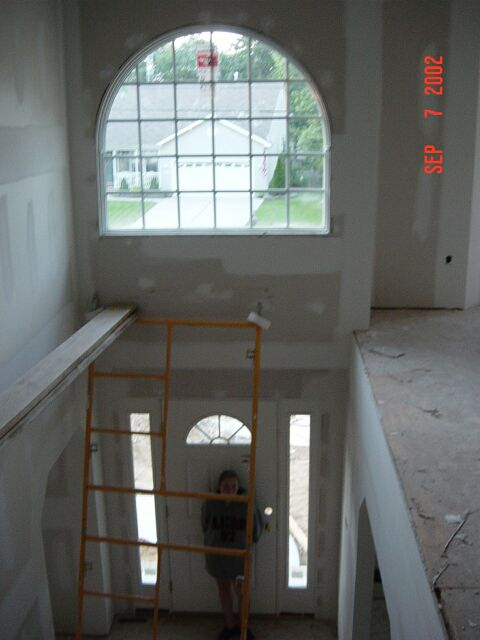 Another view with sheetrock