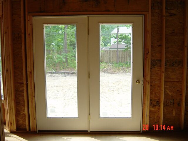 Patio Doors Framed